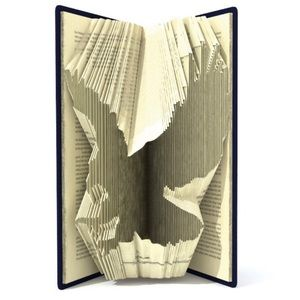 MADE TO ORDER! Eagle Book Folding GIFT